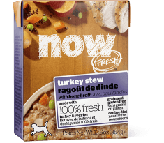 NOW FRESH Grain Free Turkey Stew for Dogs