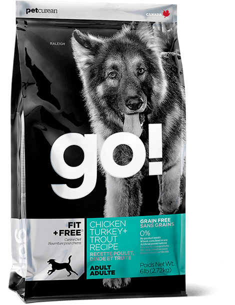 GO! FIT + FREE Grain Free Adult Dog Food
