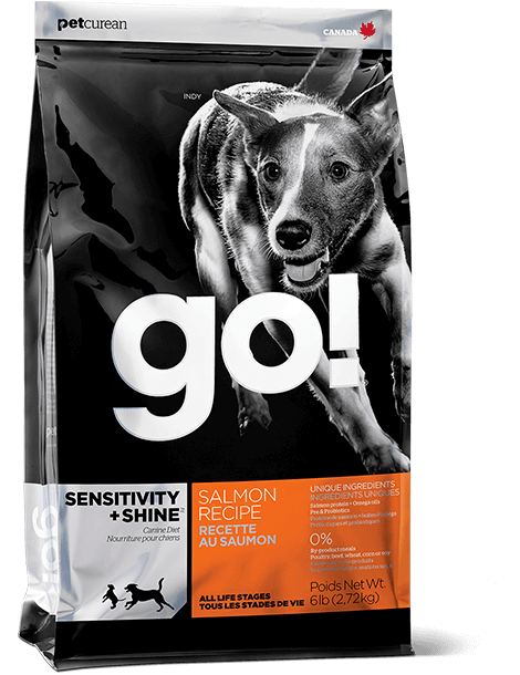 bag of GO! SENSITIVITY + SHINE Salmon Dog Food