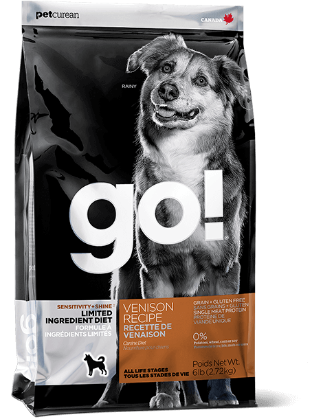 GO! SENSITIVITY + SHINE LIMITED INGREDIENT Venison Recipe for Dogs