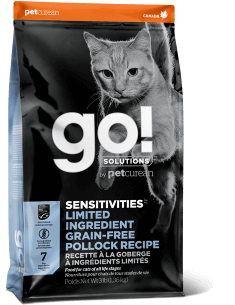 GO! SOLUTIONS SENSITIVITIES LIMITED INGREDIENT Grain Free Pollock Recipe for Cats