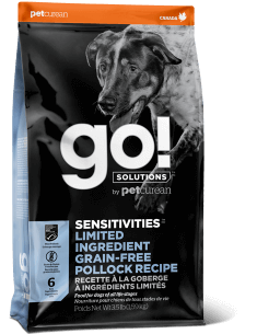 GO! SOLUTIONS SENSITIVITIES LIMITED INGREDIENT Grain Free Pollock Recipe for Dogs