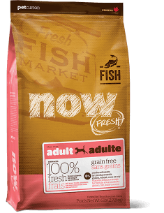 NOW FRESH Grain Free Fish Recipe for Adult Dogs