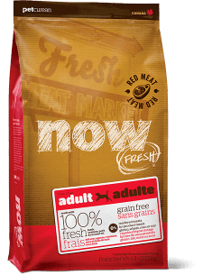 NOW FRESH Grain Free Red Meat Recipe for Adult Dogs
