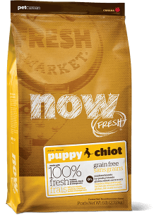 NOW FRESH Grain Free Puppy Food Recipe