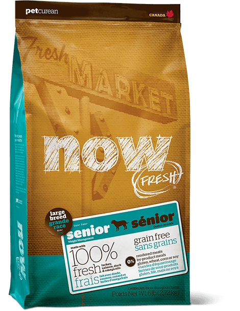 NOW FRESH Grain Free Large Breed Senior Recipe