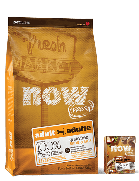 Now Fresh Natural Dog Food Petcurean