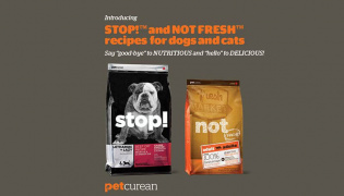 April's fool petcurean foods bags