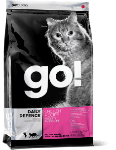 GO! DAILY DEFENCE Chicken Recipe for cats