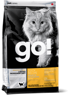 GO! SENSITIVITY + SHINE LIMITED INGREDIENT Duck Recipe for Cats