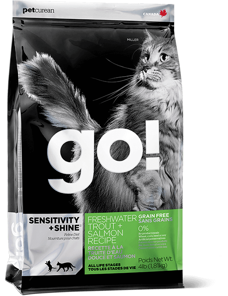 GO! SENSITIVITY + SHINE Freshwater Trout + Salmon Recipe for cats