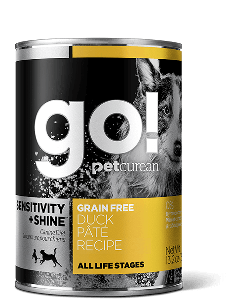 GO! SENSITIVITY + SHINE Grain Free Duck Pâté Recipe for dogs