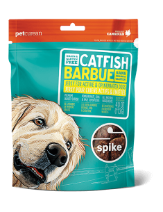 SPIKE™ Grain Free Catfish Jerky for Dogs