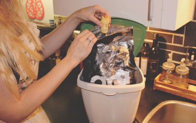 Upcycling Pet Food Bags for the Household