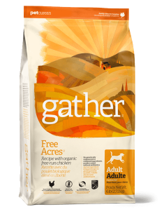 GATHER FREE ACRES Recipe for Adult dogs