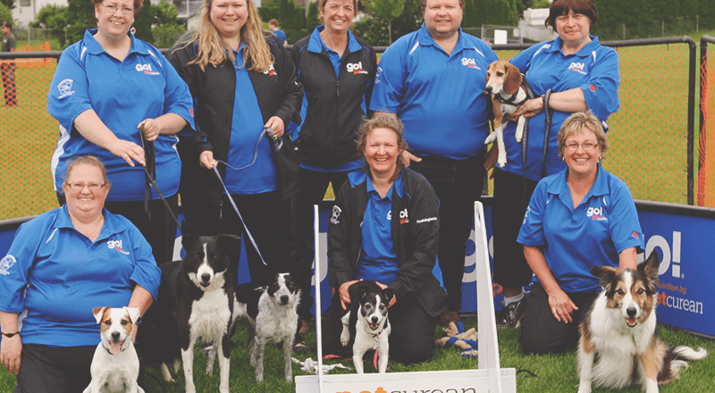 Dogwood Pacesetters Flyball team
