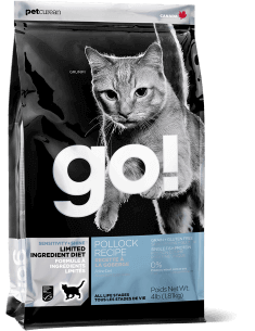 GO! SENSITIVITY + SHINE LIMITED INGREDIENT Pollock Recipe for Cats