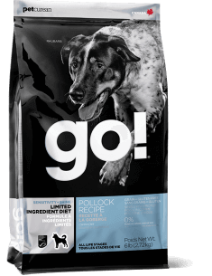 GO! SENSITIVITY + SHINE LIMITED INGREDIENT Pollock Recipe for Dogs