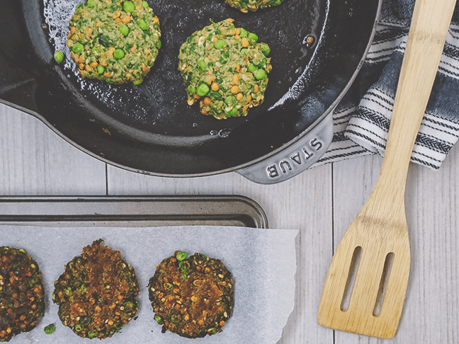 Inspired by Gather Endless Valley Pea Fritters