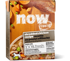NOW FRESH Grain Free Shredded Chicken Recipe for Dogs