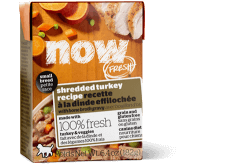 NOW FRESH Grain Free Small Breed Shredded Turkey Recipe for Dogs