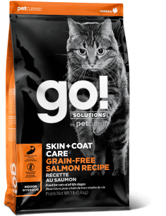 GO! SOLUTIONS SKIN + COAT CARE Grain Free Salmon Recipe for Cats