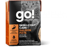 GO! SOLUTIONS SKIN + COAT CARE Salmon Pâté for cats