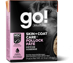 GO! SOLUTIONS SKIN + COAT CARE Pollock Pâté for dogs