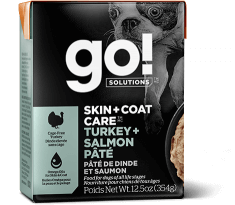 GO! SOLUTIONS SKIN + COAT CARE Turkey + Salmon Pâté for dogs