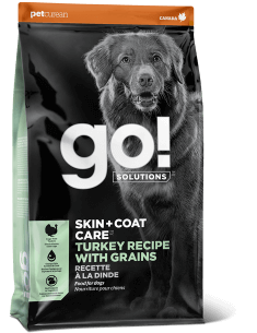 GO! SOLUTIONS SKIN + COAT CARE Turkey Recipe With Grains for Dogs